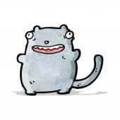 Tecknad katt — Stockvektor