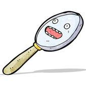 Cartoon magnifying glass — Stock Vector