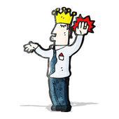 Cartoon prince — Stock Vector
