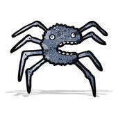 Cartoon tarantula — Stock Vector