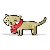 Cute cartoon cat — Stock Vector