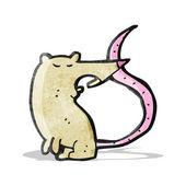 Мультфильм крыса — Cтоковый вектор