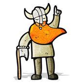 Kreslený viking — Stock vektor