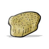 Cartoon bread — Stock Vector