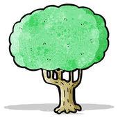 Cartoon tree — Stockvektor