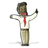 мультфильм, подчеркнул, что человек — Cтоковый вектор