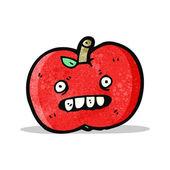 Jabłko kreskówka — Wektor stockowy