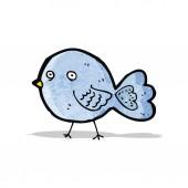 Cartoon bluebird — Stock Vector