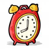 Cartoon alarm clock — Stock Vector