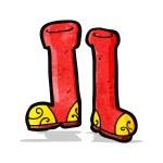 Cartoon wellington boots — Stock Vector #56340583
