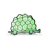 Cartoon giant tortoise — Stock Vector