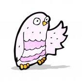 Cartoon owl — 图库矢量图片