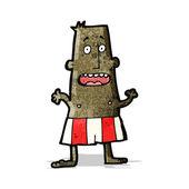 Homem dos desenhos animados no boxer shorts — Vetorial Stock