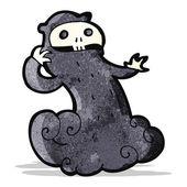 Cartoon spooky halloween ghoul — Wektor stockowy