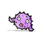 Funny cartoon fish — Stock Vector