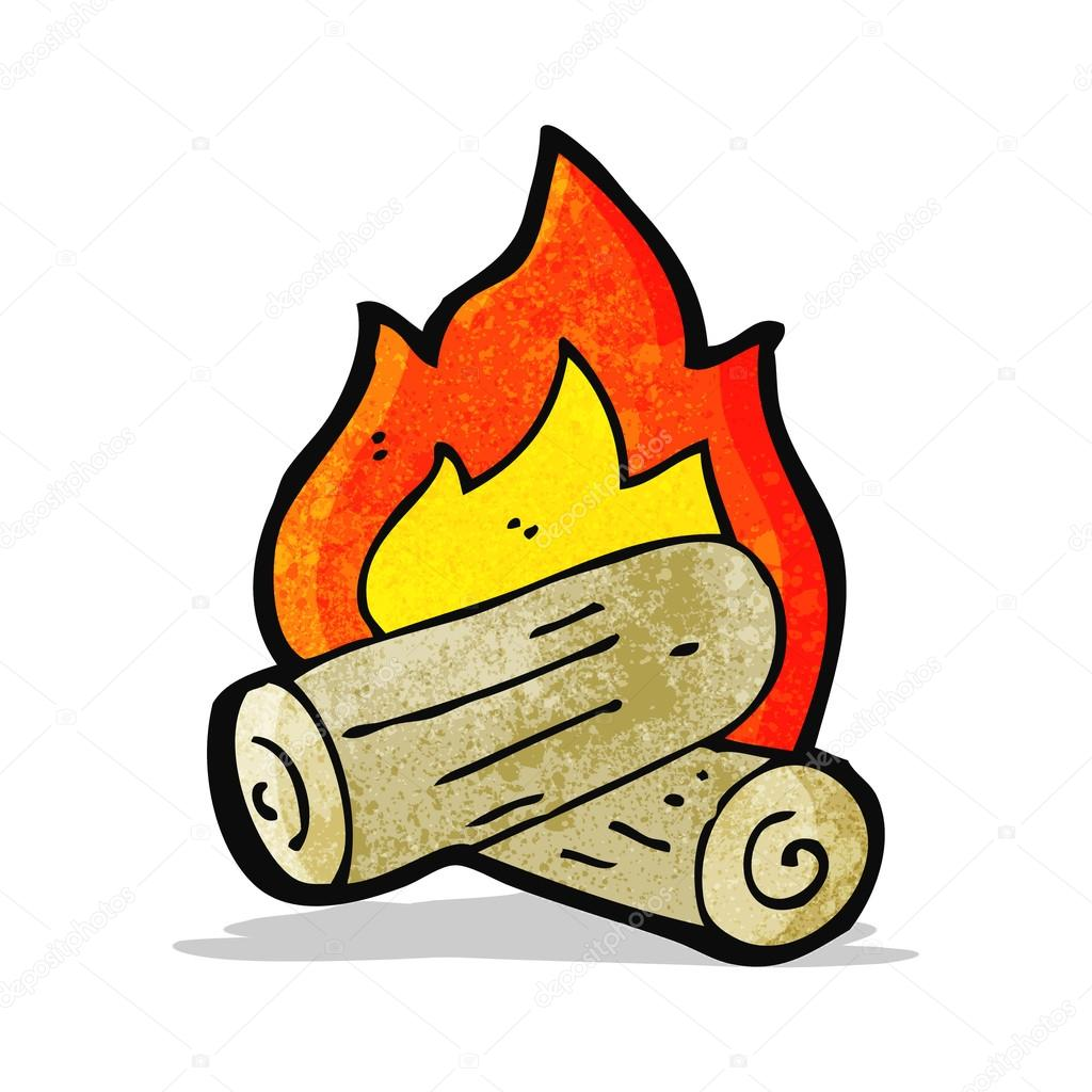 feu de bois de dessin anim image vectorielle lineartestpilot 56344115. Black Bedroom Furniture Sets. Home Design Ideas