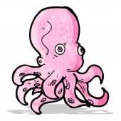 Cartoon octopus — Stock Vector