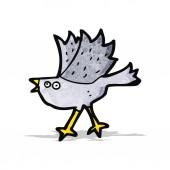 Pájaro de dibujos animados — Vector de stock