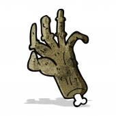漫画のゾンビの手 — ストックベクタ
