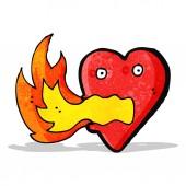 漫画火の呼吸の中心 — ストックベクタ