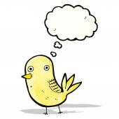 Cute bird carton — Stock Vector