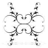 装饰花卉图案 — 图库矢量图片