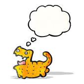 Crazy cat cartoon — Stock Vector