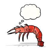 Cartoon shellfish — Stock Vector