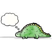 Cartoon dinosaur — Stock Vector