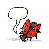 Cartoon ladybug — Stock Vector