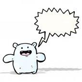 Cartoon friendly monster — Stock Vector