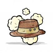 Cartoon old hat — Stock Vector