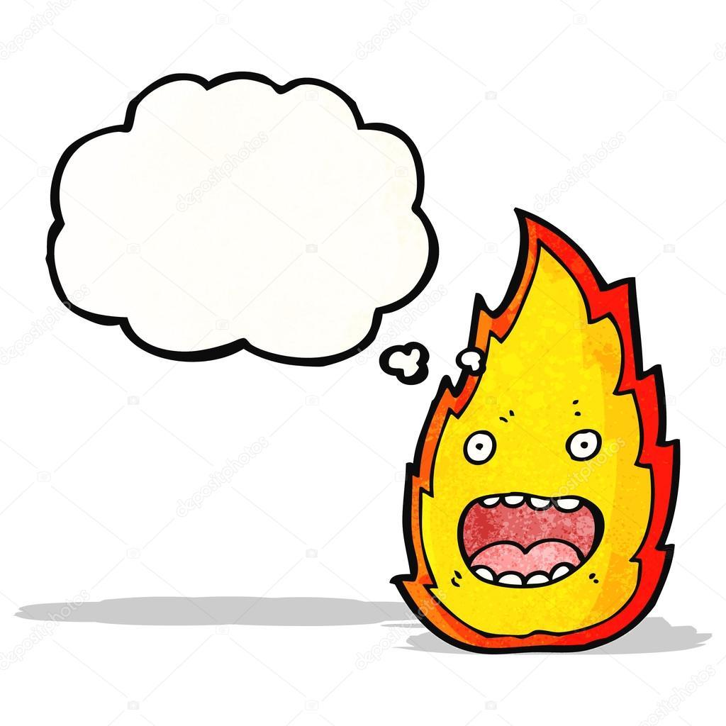 火灾卡通人物