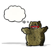 Cartoon bear — Stock Vector