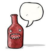 Cartoon-flasche — Stockvektor