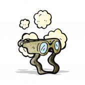 Cartoon binoculars — Stock Vector