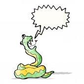 Cartoon cobra — Stock Vector