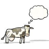 Cartoon cow — Stock Vector
