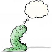 Cartoon caterpillar — Stock Vector