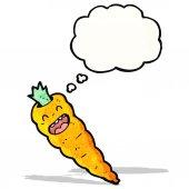 卡通胡萝卜 — 图库矢量图片