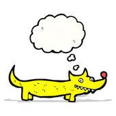Little dog cartoon — Stock Vector