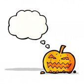 Cartoon pumpkin — Stock Vector