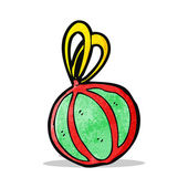 Cartoon decoratie van kerstmis — Stockvector
