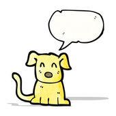 漫画の小さな犬 — ストックベクタ