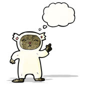 Cartoon bear costume — Stock Vector