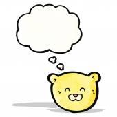 Teddy bear cartoon character — Stock Vector