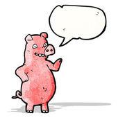 卡通猪 — 图库矢量图片