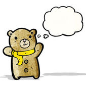 Cute teddy bear cartoon — Stockvector