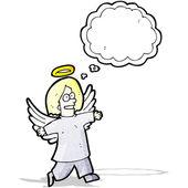 Cartoon angel — Stock Vector