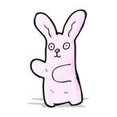 Cartoon rabbit — Stock Vector